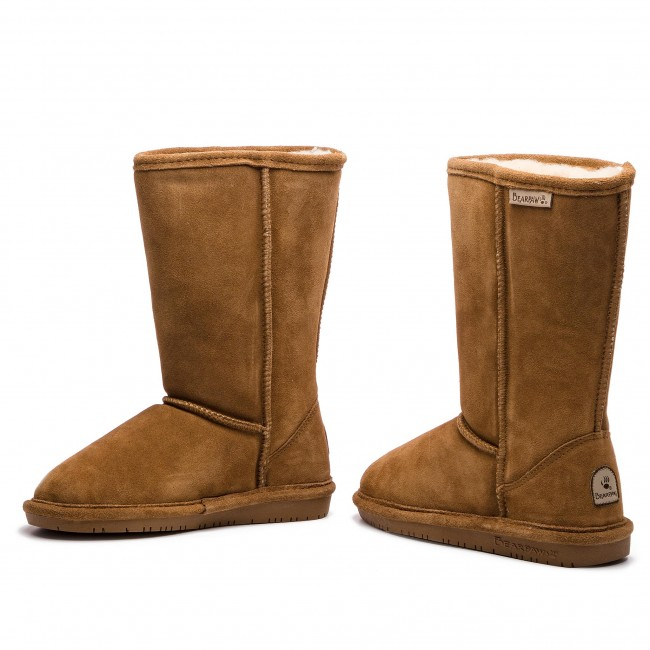 Bearpaw Emma Hickory Youth Tall 618y Zapatos WIE9YDH2