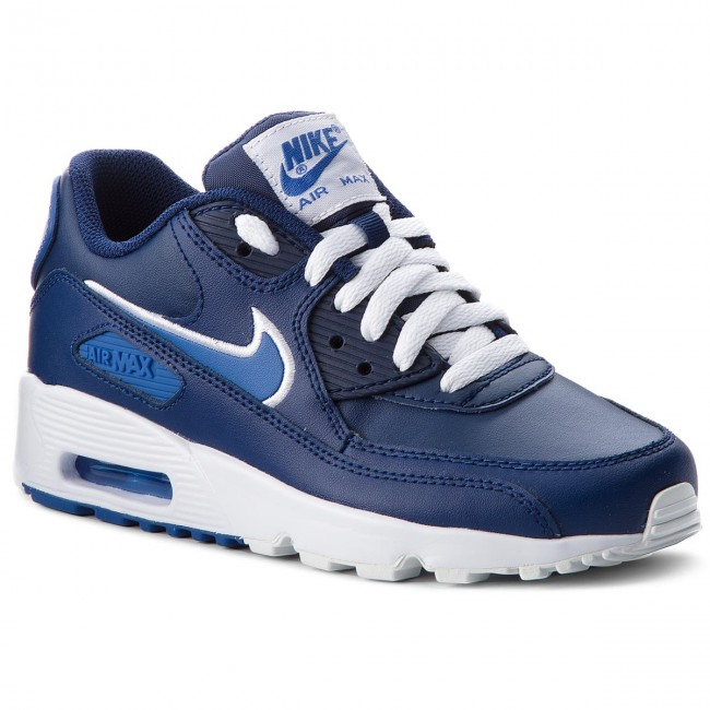 competitive price 25985 87781 Zapatos NIKE. Air Max 90 Ltr (GS) 833412 409 Blue Void Game Royal White