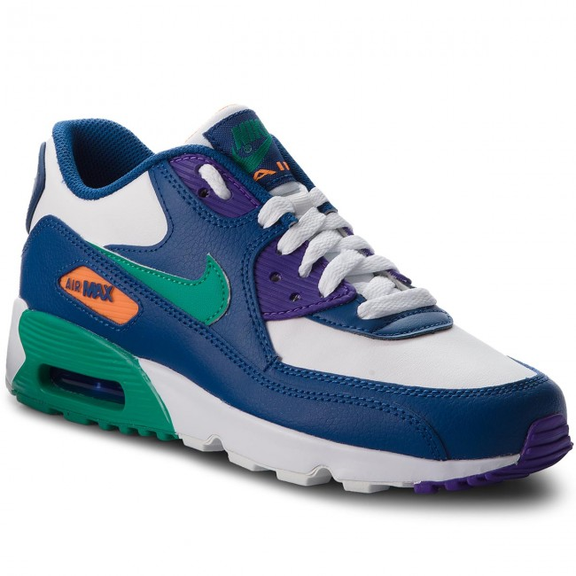 info for 83411 171e8 Zapatos NIKE - Air Max 90 Ltr (GS) 833412 410 Gym Blue Neptune