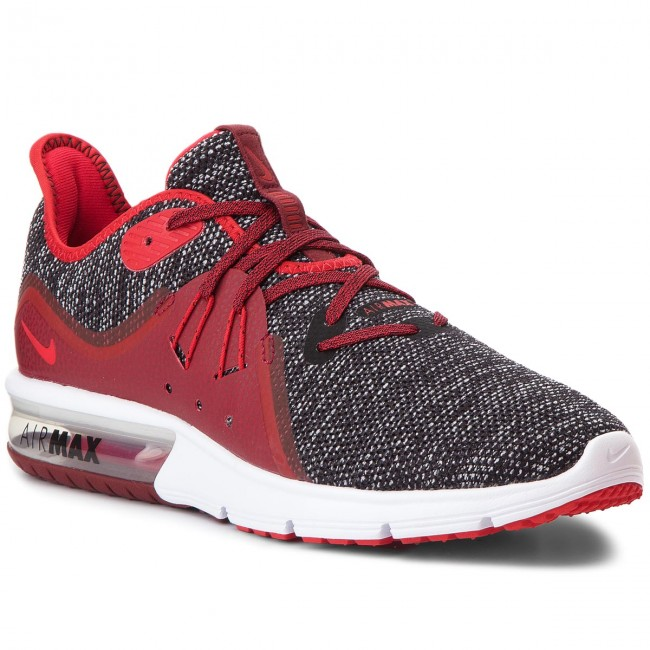 cheap for discount ccdc8 d07f9 Zapatos NIKE - Air Max Sequent 3 921694 015 Black University Red White