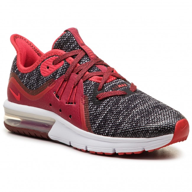 Black Air 3gs922884 Nike Zapatos Max Red Sequent white 009 university shCrxoBQtd