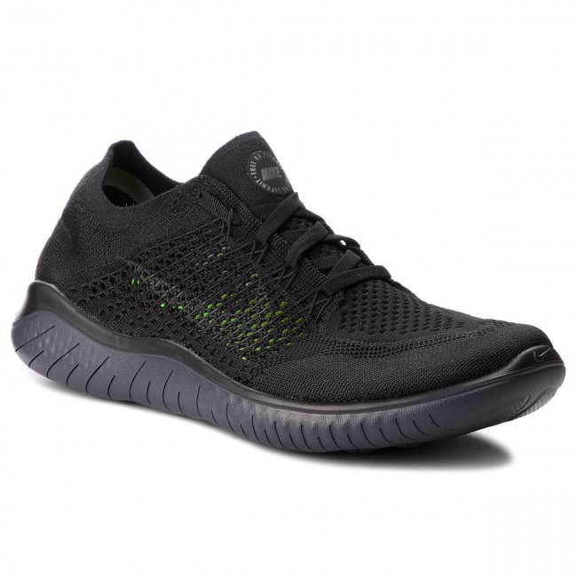 950950f1f68 Zapatos NIKE - Free Rn Flyknit 2018 942838 002 Black Anthracite ...