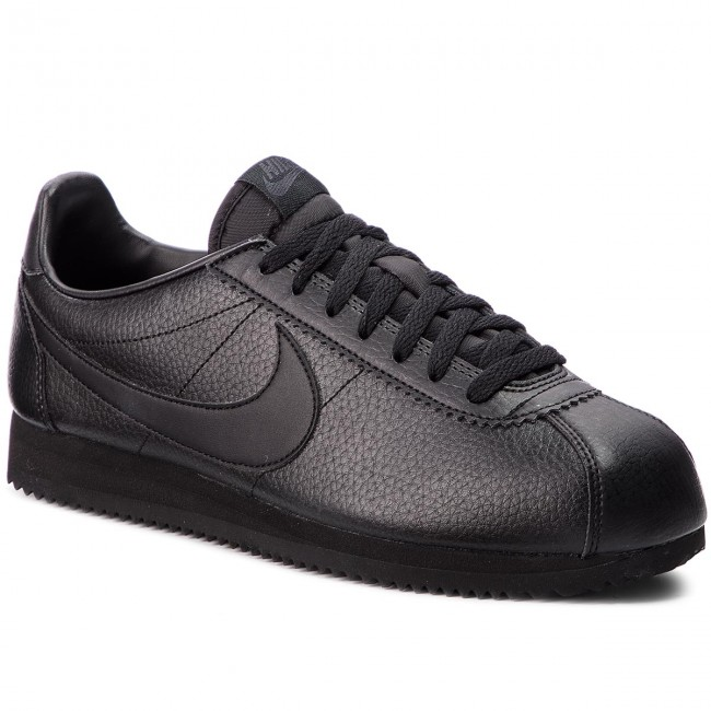119675ed2 Zapatos NIKE - Classic Cortez Leather 749571 002 Black/Black/Anthracite