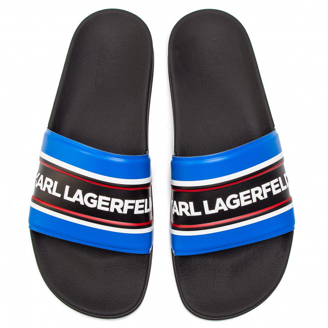 Rubber Karl Lagerfeld Navy W blue Chanclas Kl70006 hrdCtsQ