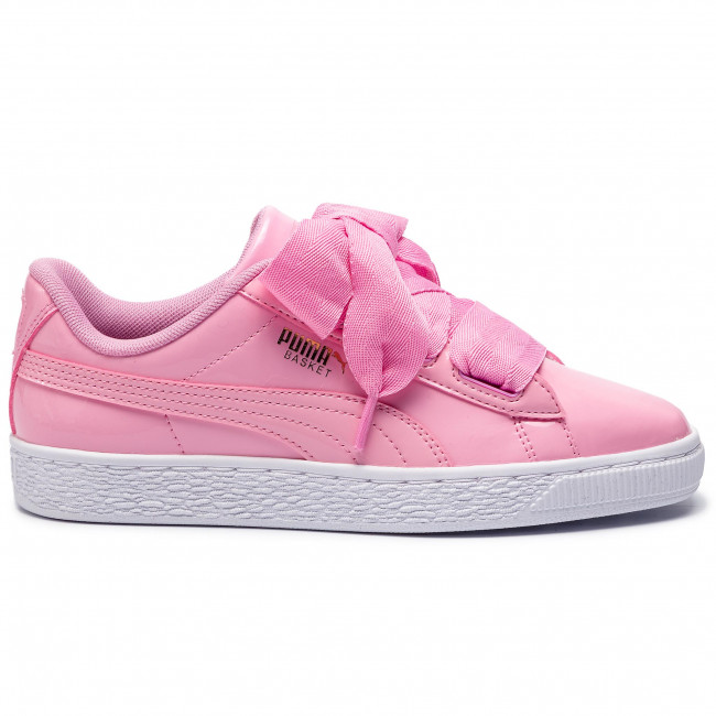 Pink Patent Heart 03 Sneakers gold Jr 364817 pcoat Basket Puma white Prism zSMVpGqU