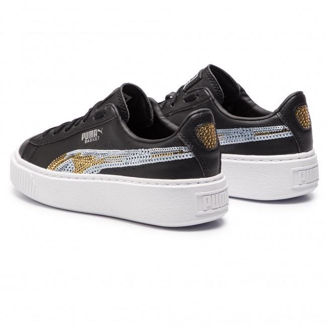 Sneakers Pltfrm Black Trailblazer Gold Team Jr Sqn Puma 03 Basket 369045 puma mN0v8nw