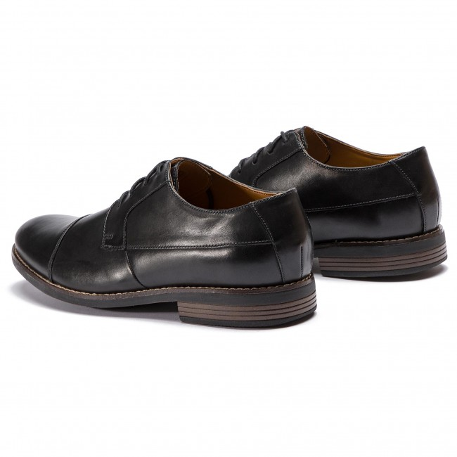 Becken Cap 261231397 Black Zapatos Leather Clarks xeodrCWB