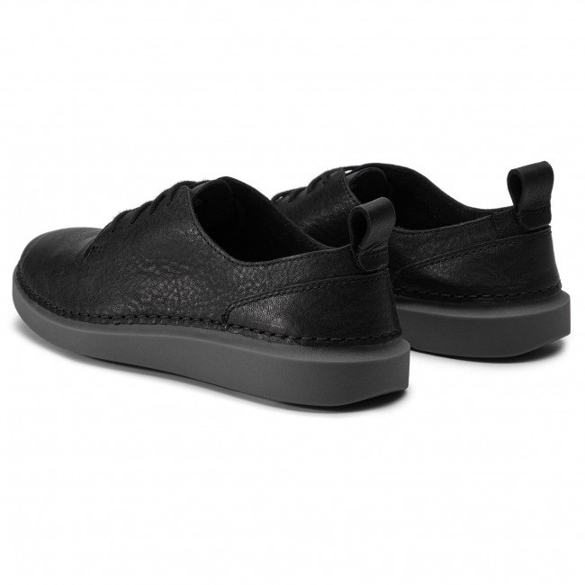 Zapatos Leather Lace261388764 Black Hale Clarks GSqULMpzV