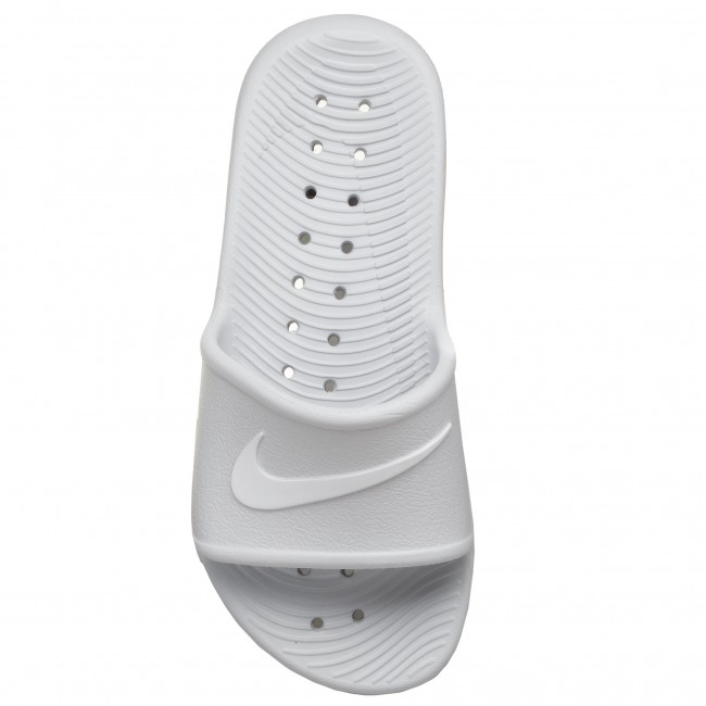 Nike white Shower Pure Kawa 832655 Chanclas 010 Platinum 0wvmnO8N