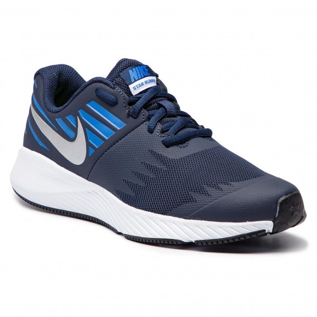 newest collection ecfae 53172 Zapatos NIKE - Star Runner (GS) 907254 406 ObsidianMetakkic Silver