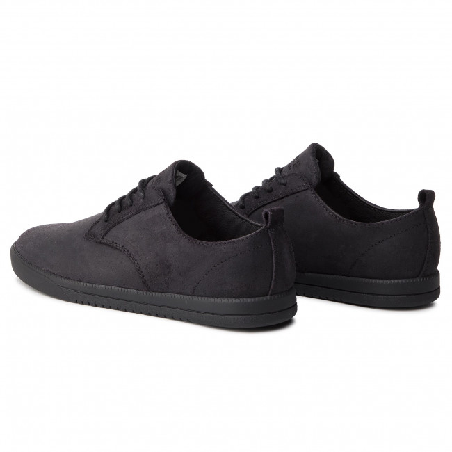 Cla01246 Ellington Black Waxed Suede Zapatos Clae SzGLqMUVp