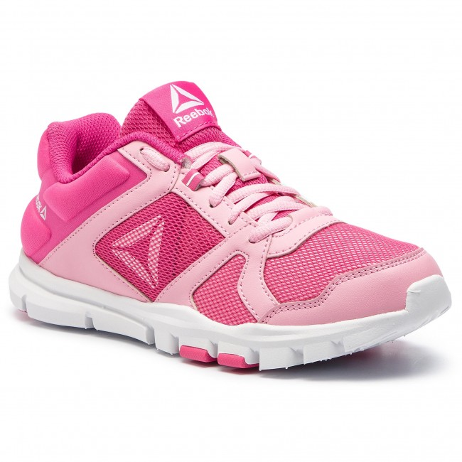 Zapatos pink Train 10 Yourflex Reebok Cn8608 white Light Pink f7bYy6g
