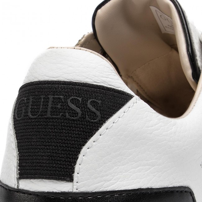 Guess White Fm5bar Barry Lea12 Sneakers ZTOwuPikX