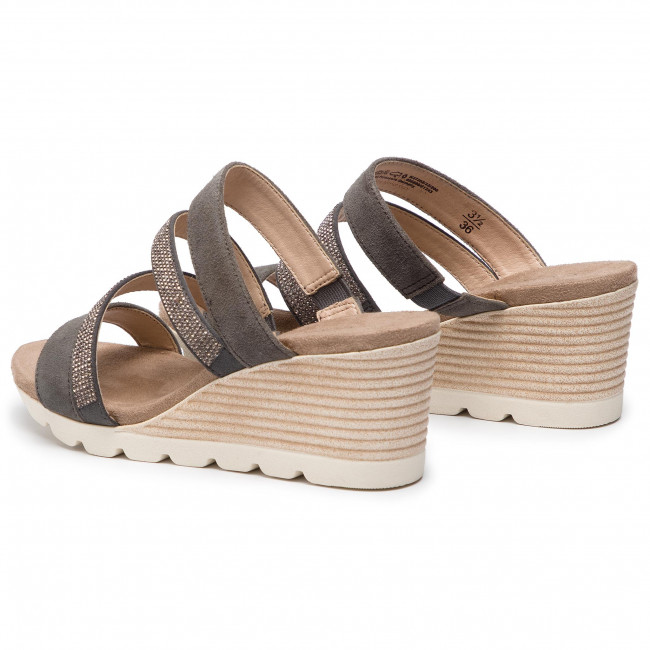 206 Chanclas 27202 22 9 Caprice Grey Dk Suede O8n0kwPX