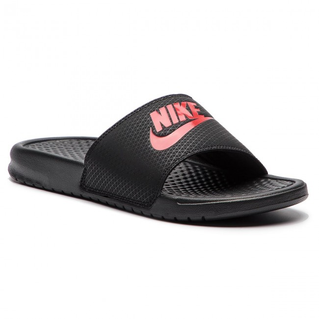 ee80e95f7a96c Chanclas NIKE - Benassi Jdi 343880 060 Black Challenge Red ...