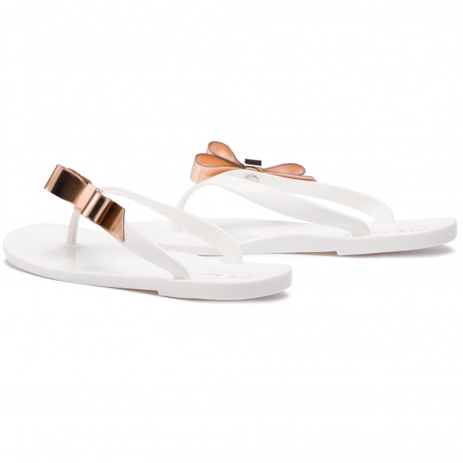 White white Baker Suszie 18179 Ted 9 Chanclas 2e9YWHIED