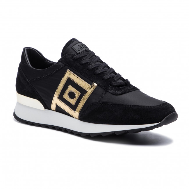 Sneakers Vm00459 bianco Va75 Versace fdo oro Nero Collection V900741 qSpVzUM