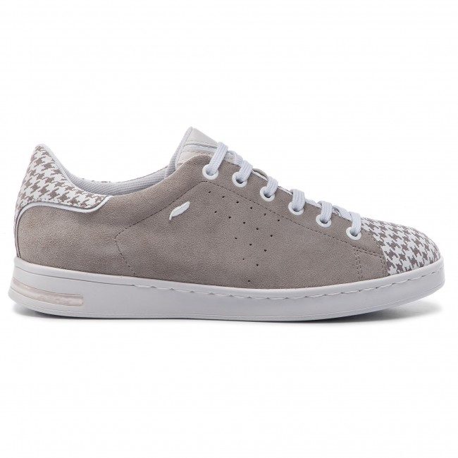 Geox white C1303 Sneakers 02207 D621ba Grey D Lt Jaysen A ED2YWH9I