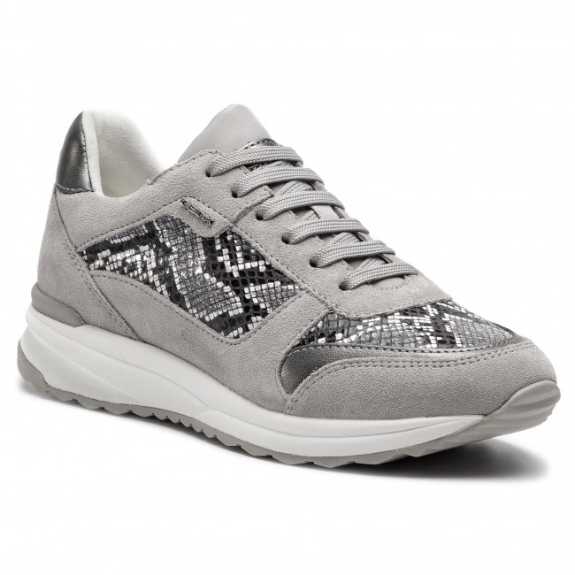 Geox white D D642sc Black C C0127 Sneakers Airell 04122 BeWxdrCo