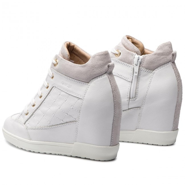 es Zapatos Sneakers C C1000 Carum White De GeoxD Mujer Zapatos D84asc 08522 OkiXZuP