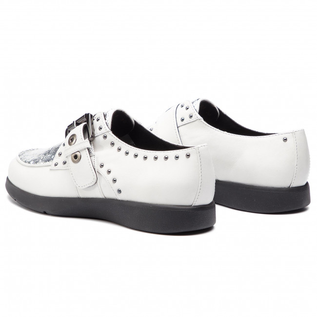 G 043ay Zapatos Geox silver D C0007 White D92dhg Arjola wkX8P0On
