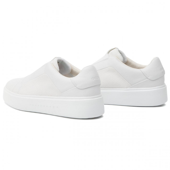Nhenbus B 01485 C1000 Geox D828db White D Sneakers YH9WIDE2