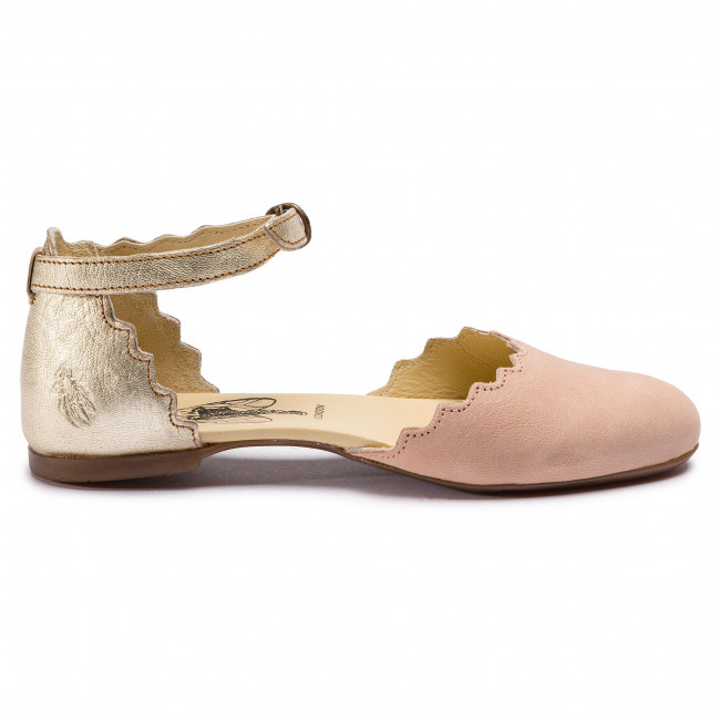 Zapatos London P144210010 Nude Pink Megsfly Fly gold shxBtCQrod