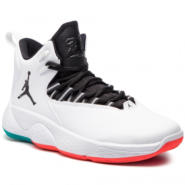 huge discount fc102 caf7b Zapatos NIKE - Jordan Super.Fly Mvp AR0037 103 White Black Turbo Green
