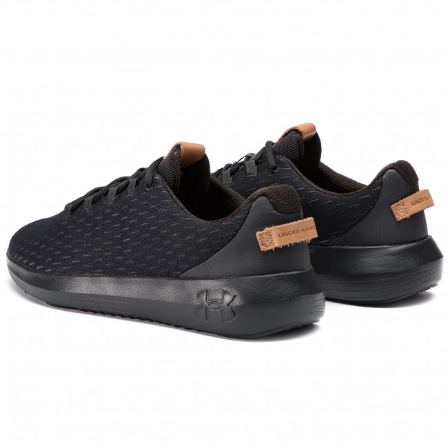 Under Armour 002 Zapatos Ua Elevated Ripple 3021651 Blk eWD92IEYH