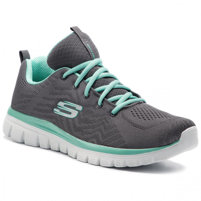 bff2f5e251f Zapatos SKECHERS - Get Connected 12615 CCGR Charcoal Green ...