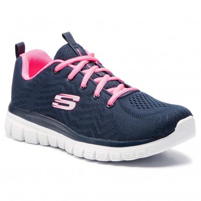 8fd1fcc6aba Zapatos SKECHERS - Get Connected 12615 NVHP Navy Hot Pink ...