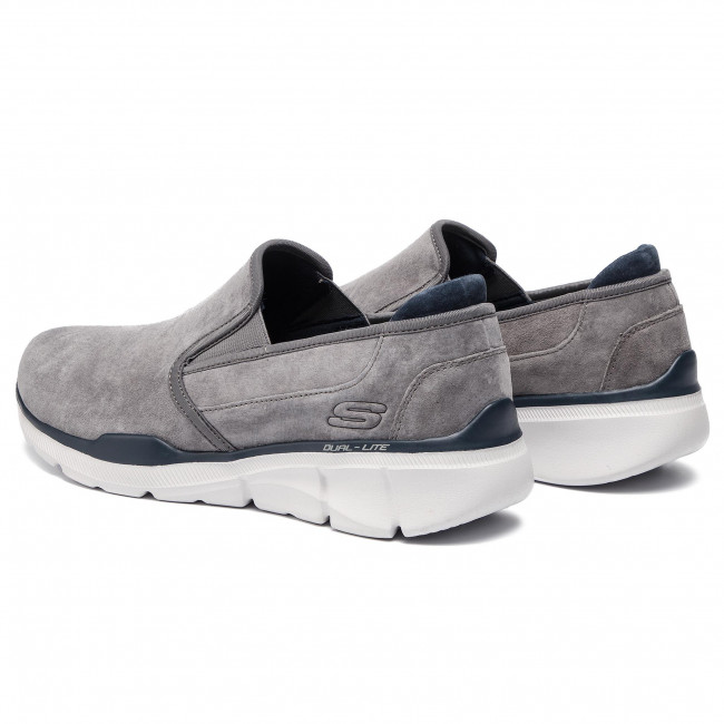 char Zapatos Skechers Charcoal Substic 52938 k8wn0XOP