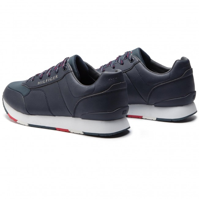 Runner Hilfiger Corporate 403 Leather Fm0fm02057 Sneakers Tommy Midnight PZwkOXiuT