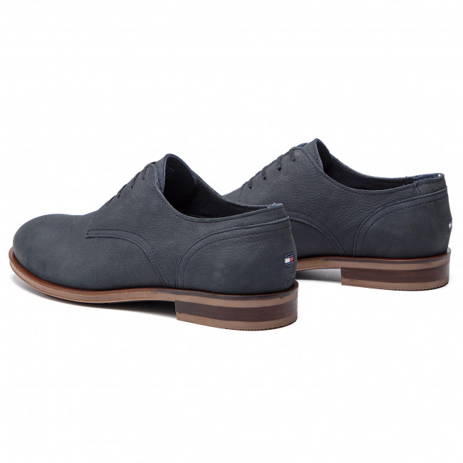 Nubuck Dress Midnight Fm0fm02108 Casual Tommy Zapatos Hilfiger Shoe 403 PkZXiOuT