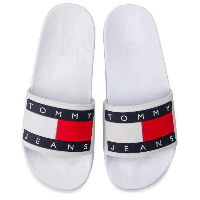 White Flag Jeans 100 Chanclas Pool Slide Em0em00284 Tommy 6If7gbvYy
