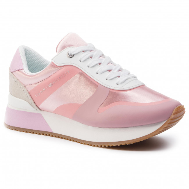 518 Sneaker Sneakers Satin Color Lavender Hilfiger City Pop Fw0fw04099 Tommy Pink eDY2H9EIW