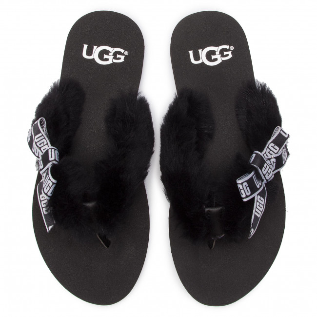 blk Ugg W Graphic Chanclas Sunset 1101046 W 6gIfybm7Yv
