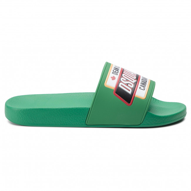 17200001 Chanclas 8078 Verde Brillante Dsquared2 Slm0005 nwmvN80