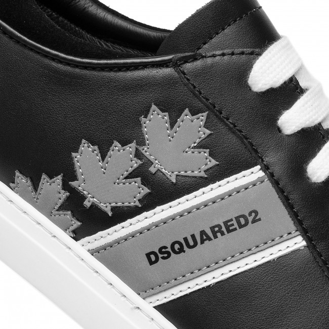 Snm0035 Sneakers Argento 01501798 Team Canadian M465 Nero Dsquared2 jqc34R5AL