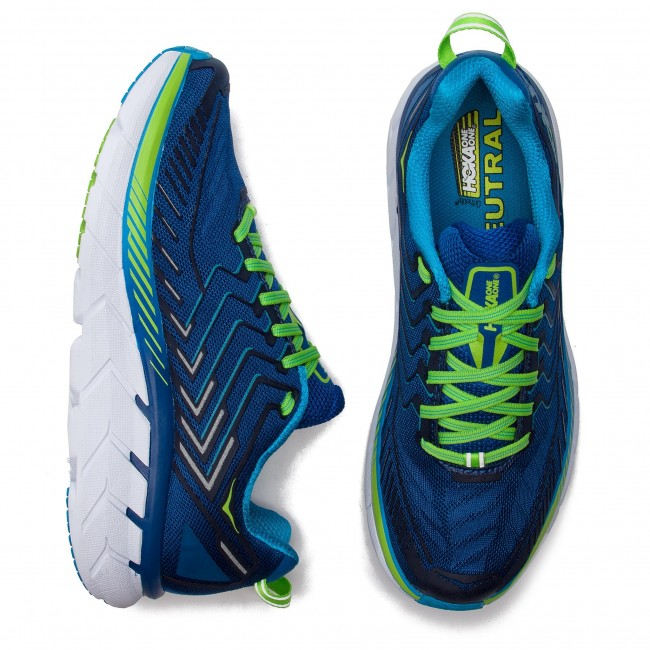 True Blue Clifon jasmine Zapatos Green One 1016723 Hoka 4 EDYW2IH9