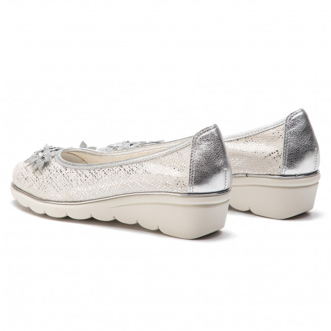 Zapatos Bohemian White C2501 The Flexx 57 silver P0kNXn8wO