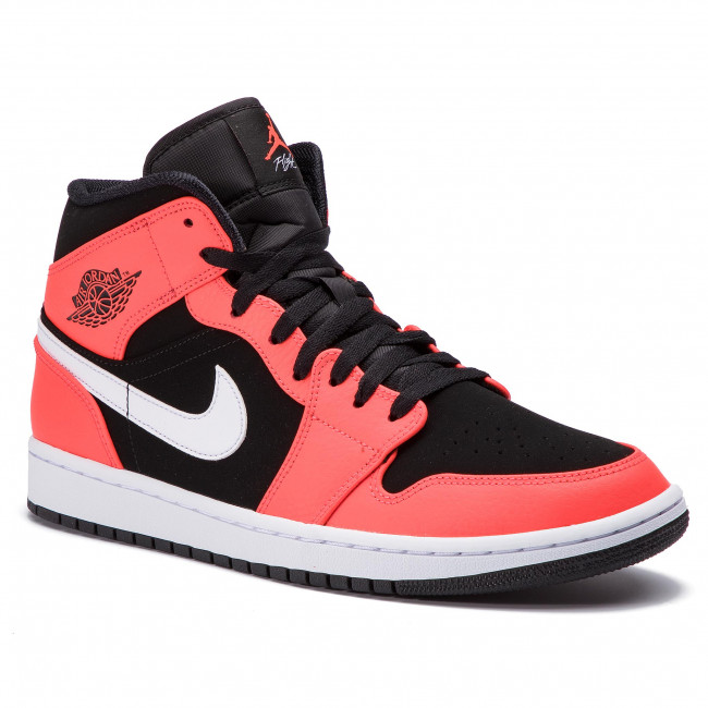 ccedd45366c Zapatos NIKE - Air Jordan 1 Mid 554724 061 Black Infrared 23 White ...