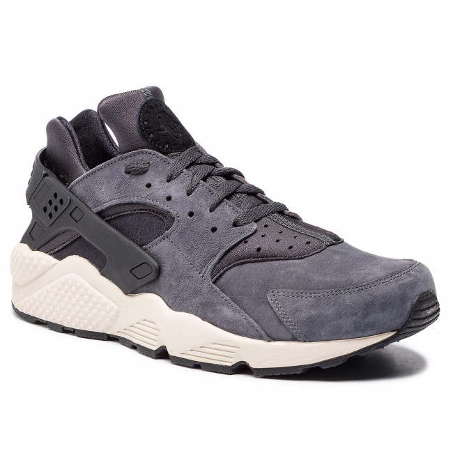 new concept 317ca 058fd Zapatos NIKE - Air Huarache Run Prm 704830 016 AnthraciteBlackLight Bone