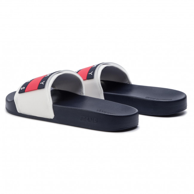 Flag Pool Em0em00292 Translucent White Chanclas Tommy Slide 100 Jeans kPXiuZ