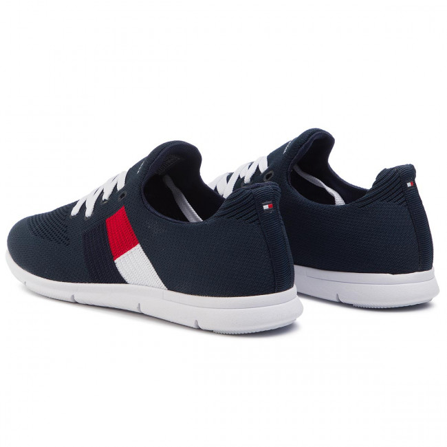 Flag Light 403 Knitted Midnight Tommy Sneakers Sneaker Hilfiger Fw0fw04144 nOk8PwX0