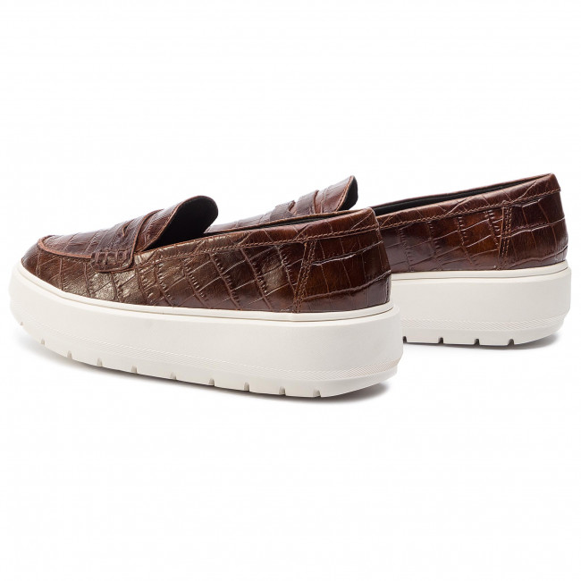 D84and Brown D Geox Kaula Zapatos 0006y C0013 mN80nwvO
