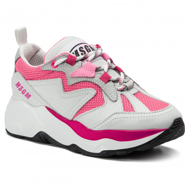 Msgm Gris Attack 15 Rosa Sneakers 700 2642mds2086 67gYybf