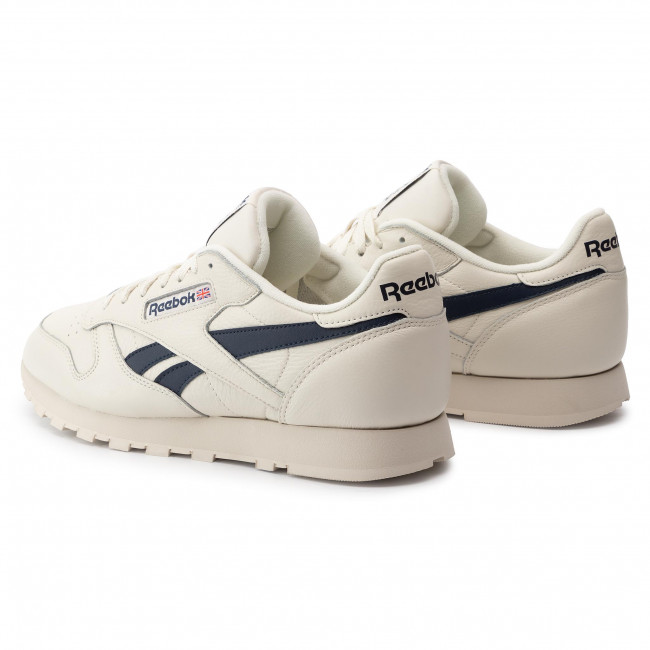 ReebokCl Mu Zapatos Hombre Dv9695 Sneakers paperwht Navy es Zapatos coll Leather De Chalk ZkPuOXi
