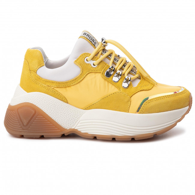 De es Light cp Yellow Sneakers Zapatos 52 Mujer Zapatos Bronx66255 g6ybfvIY7