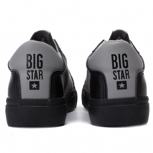 Agradable Zapatillas de tenis BIG STAR - EE274314 Black/Grey - Zapatillas tenis - Zapatos - Zapatos de mujer ms2lCv